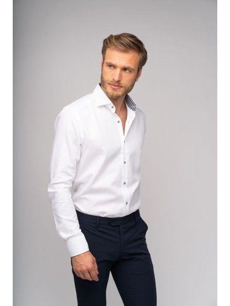 Camicia uomo bianca armaturata