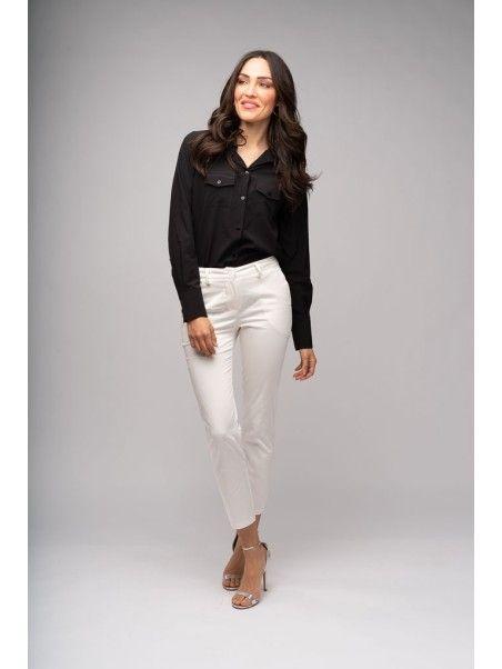 Pantaloni donna in cotone