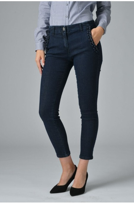 Jeans donna chinos