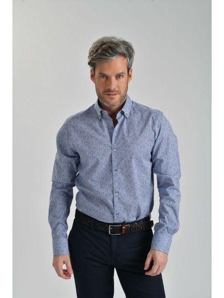 Camicia uomo stampata