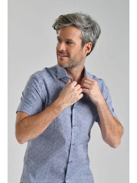 Camicia uomo mezza manica