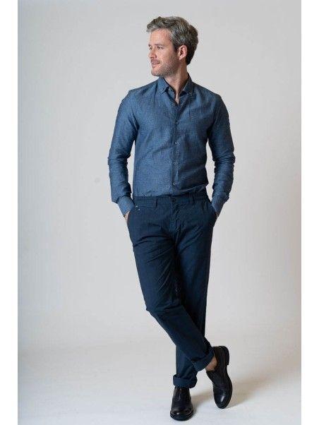 Pantaloni uomo in cotone...