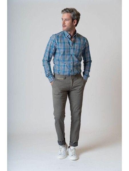 Pantaloni uomo in cotone