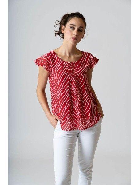Camicia donna stampata