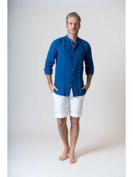 Camicia uomo in lino