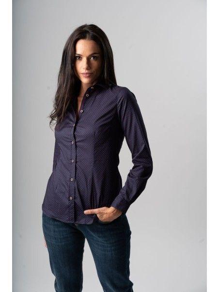 Camicia donna pois