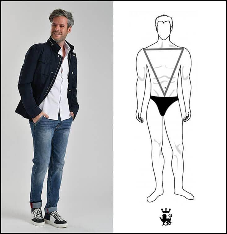Abbigliamento uomo muscoloso