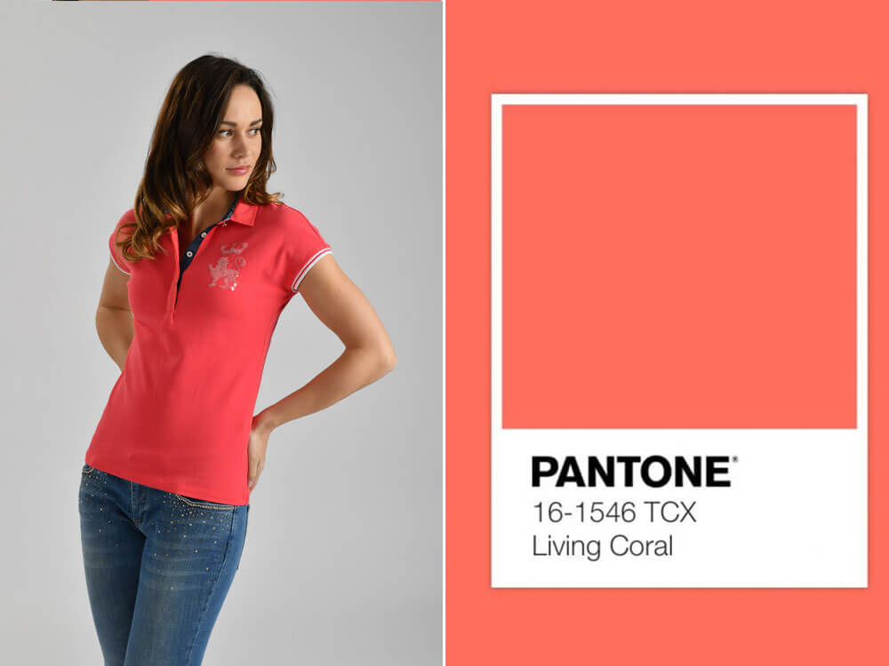 Tendenze moda estate 2019 Pantone living coral