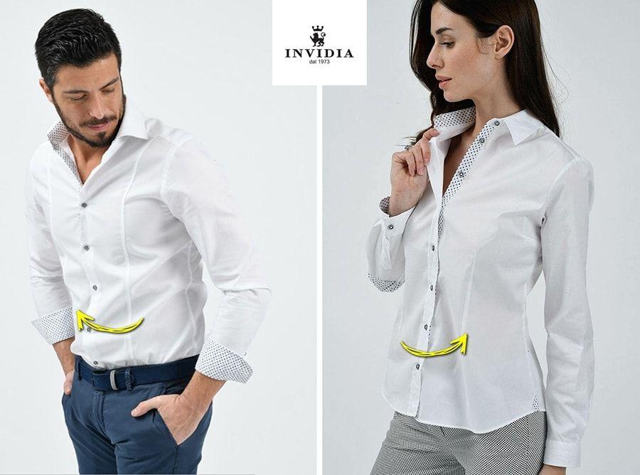 """wholesale dealer 52b6c 85397 Abbottonare la camicia femminile: il curioso """"perchè"""" dei ..."""