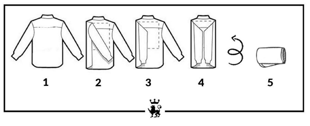 Come Piegare Una Camicia Stirata.Come Piegare Una Camicia Le Tecniche Per Una Perfetta Valigia Uomo