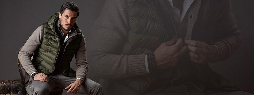 detailed look f2739 be59a Gilet smanicato uomo:come indossare il piumino senza maniche ...
